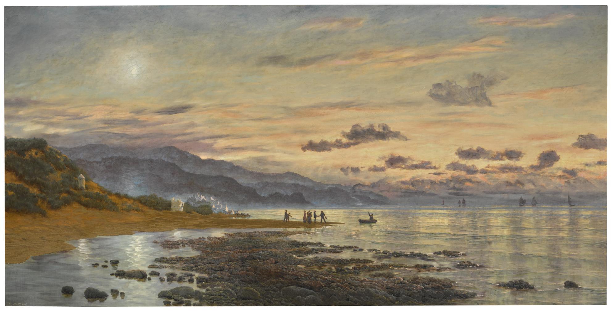 John Brett - The Parting Hour-1893