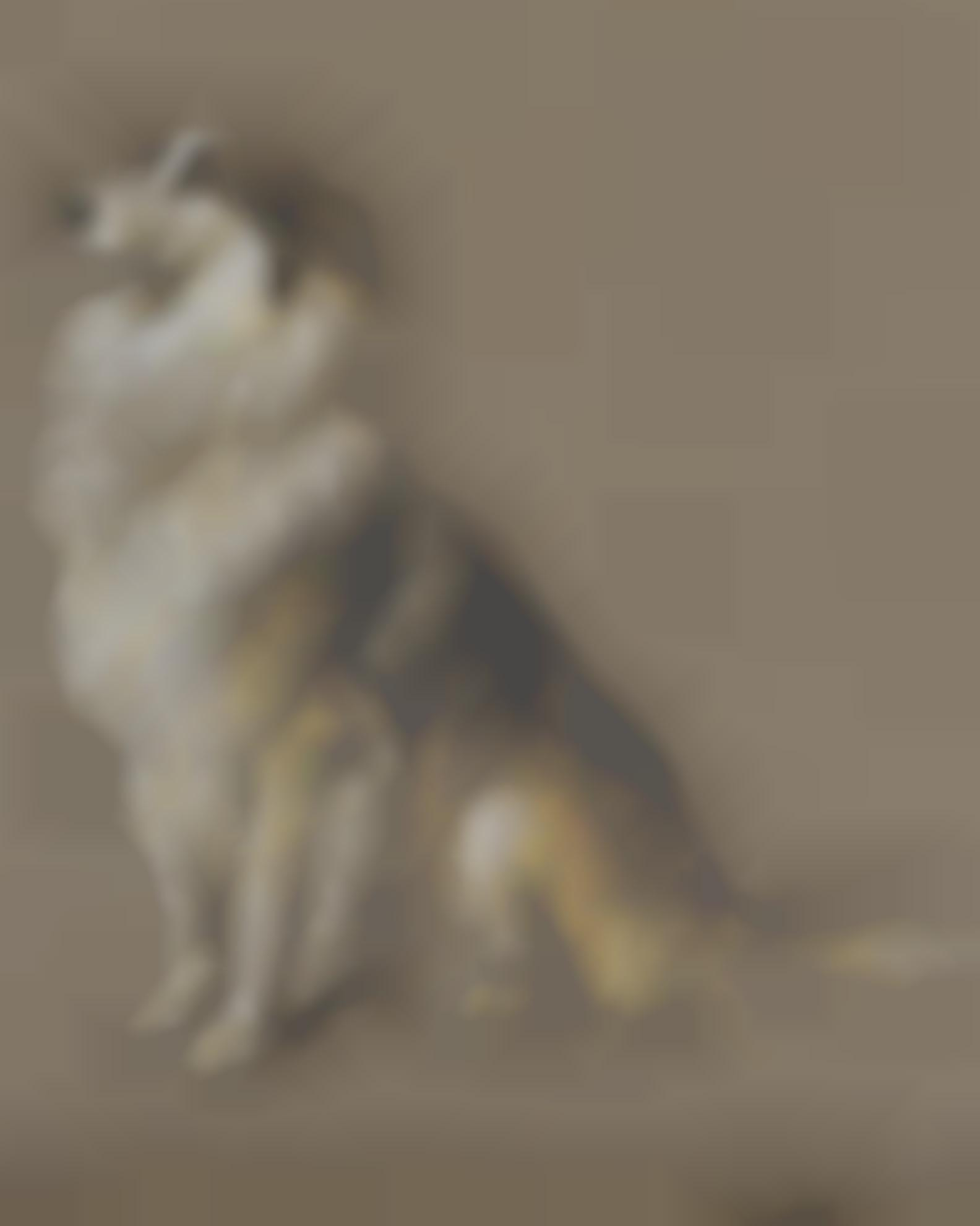 Briton Riviere - Expectant Collie-