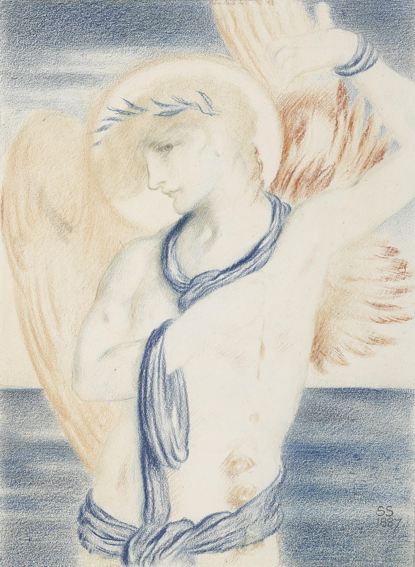 Simeon Solomon - Icarus-1887