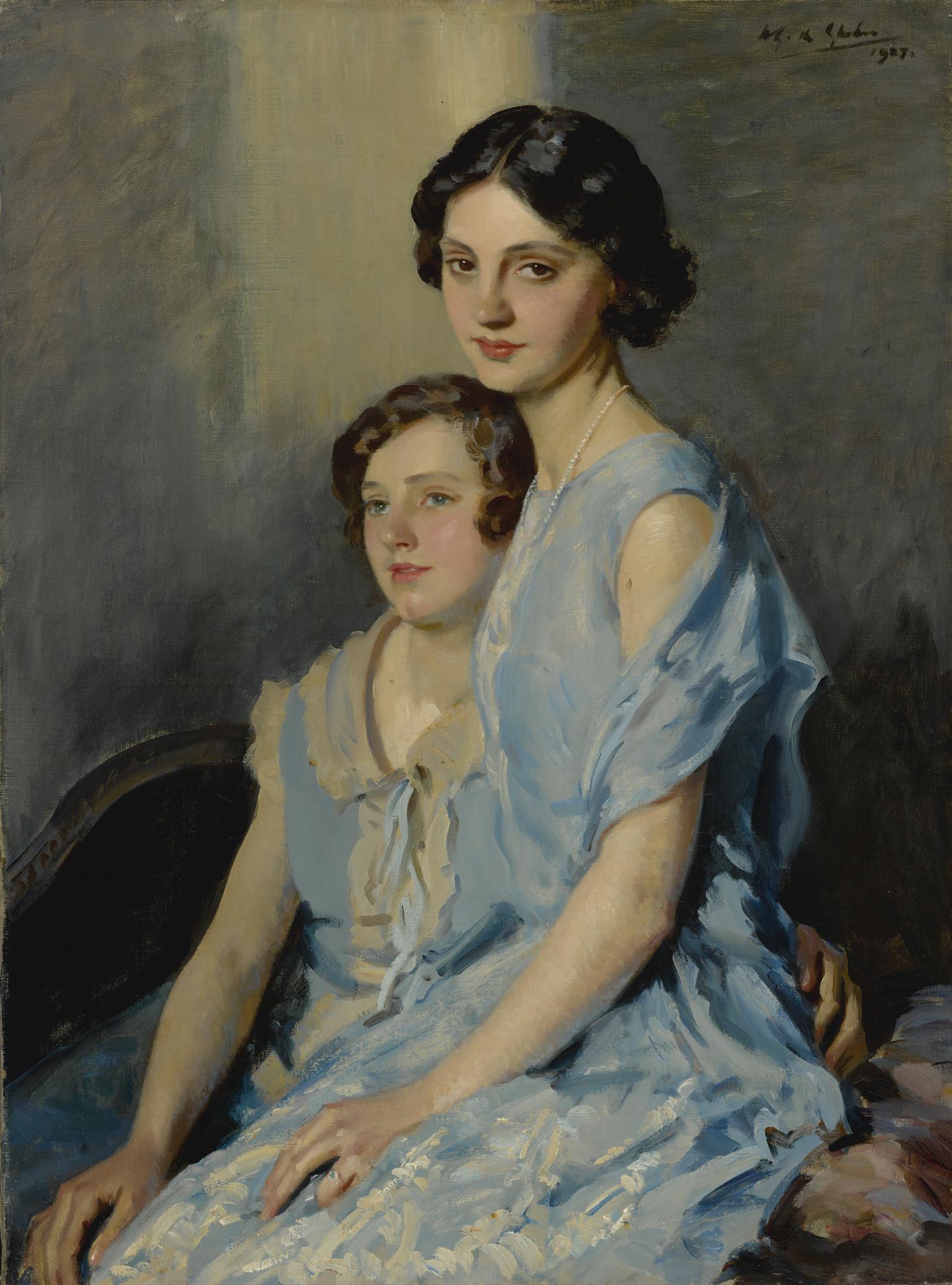 Wilfred Gabriel De Glehn - The Sisters-1927