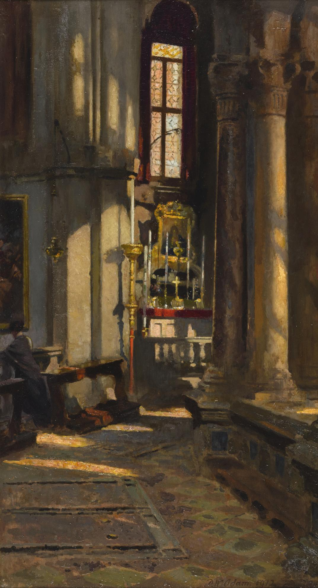 Patrick William Adam - St. Zaccaria, Venice-1912