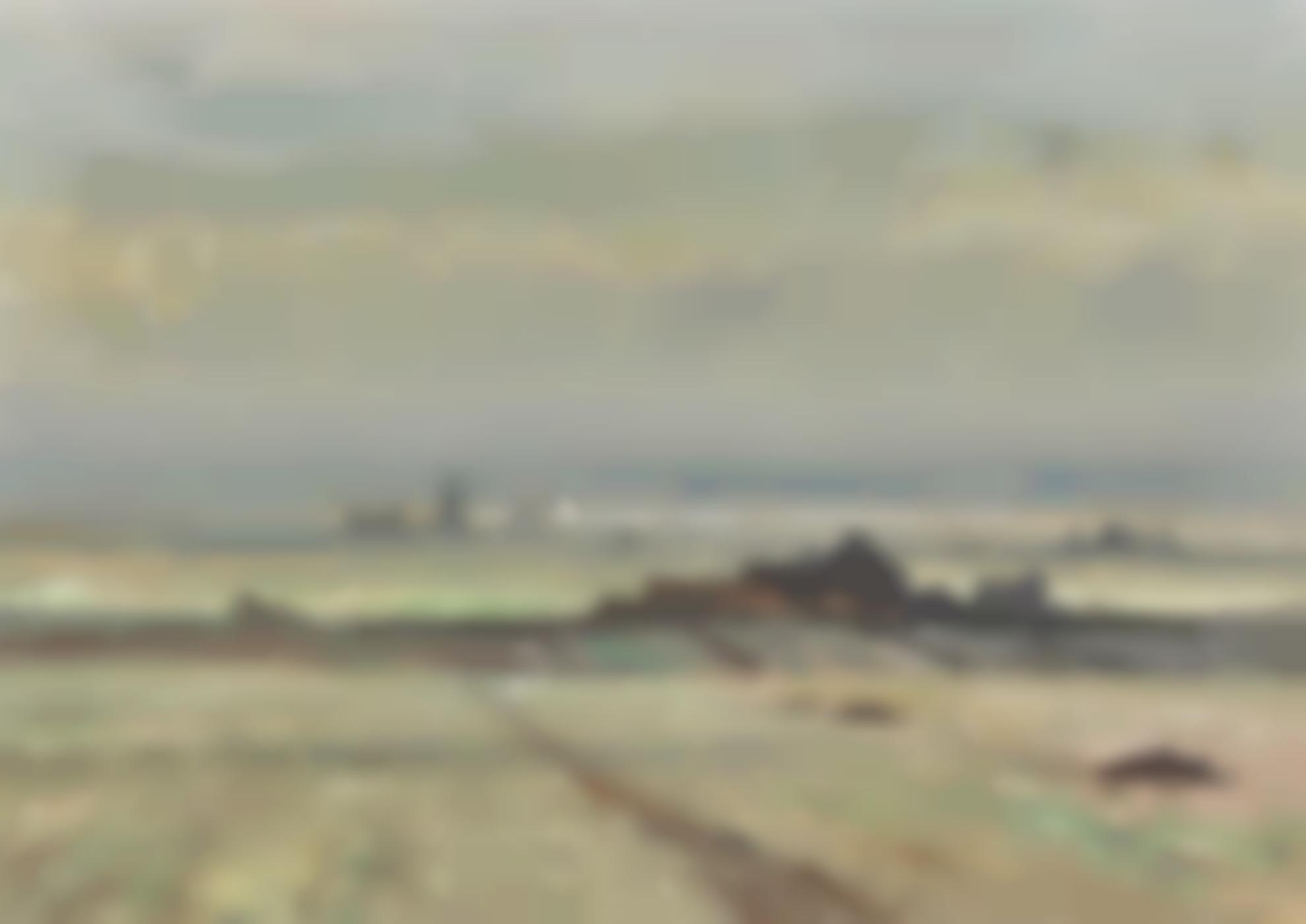 Edward Seago-Marshland Landscape, Norfolk-
