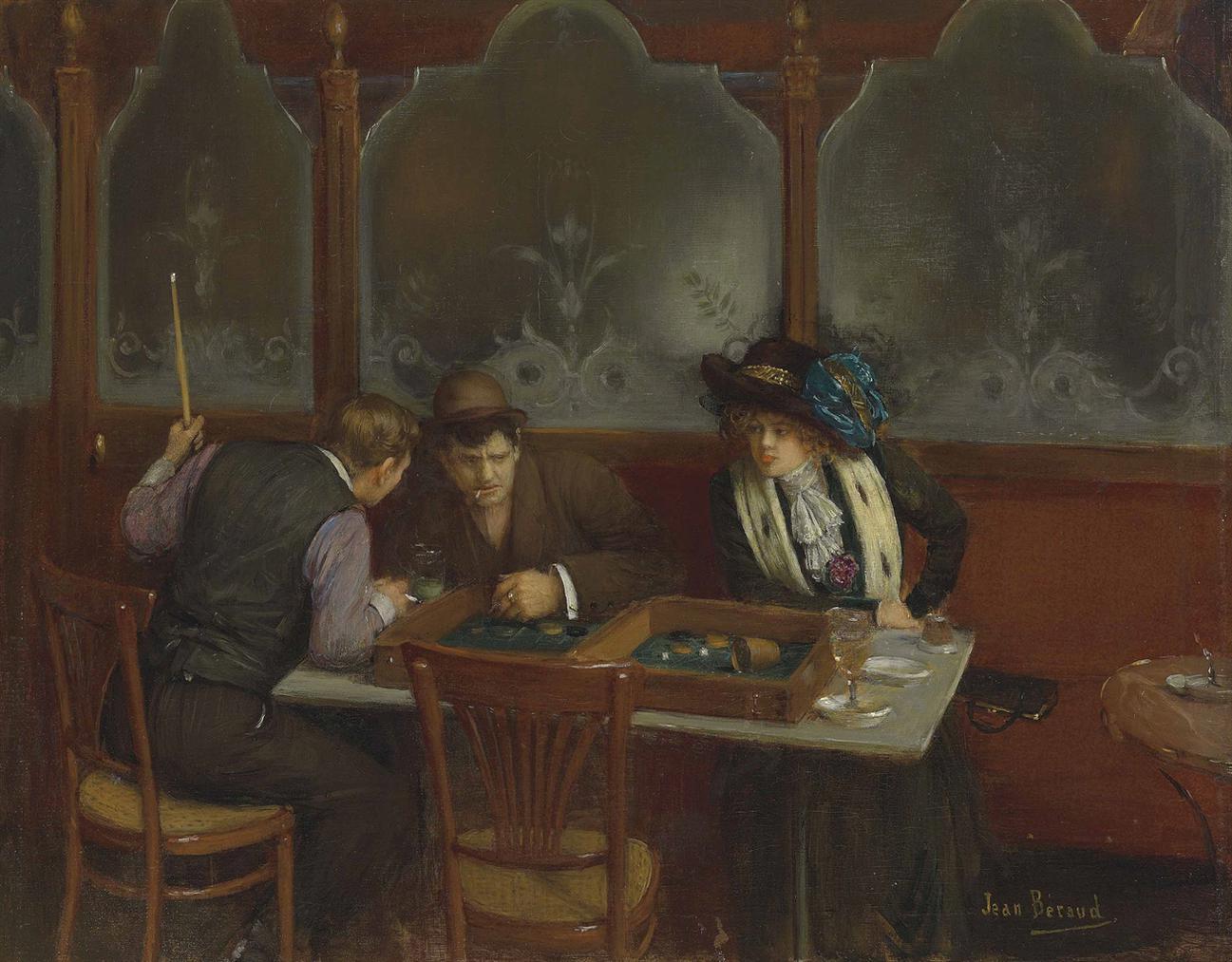 Jean Beraud - Au Cafe-
