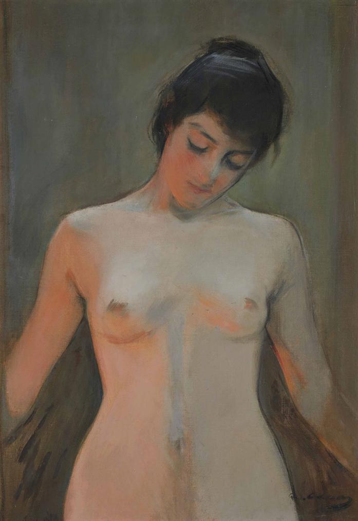 Ramon Casas - Desnudo-
