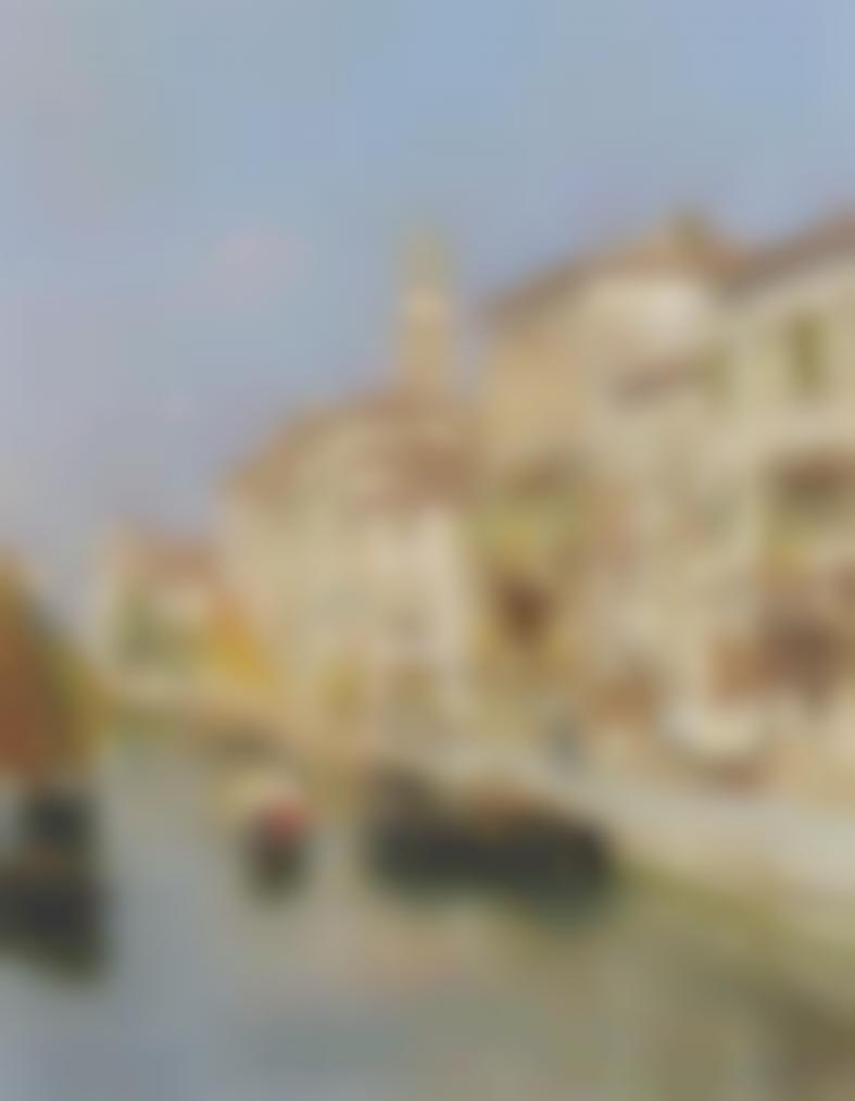 Rubens Santoro - Canal In Venice-