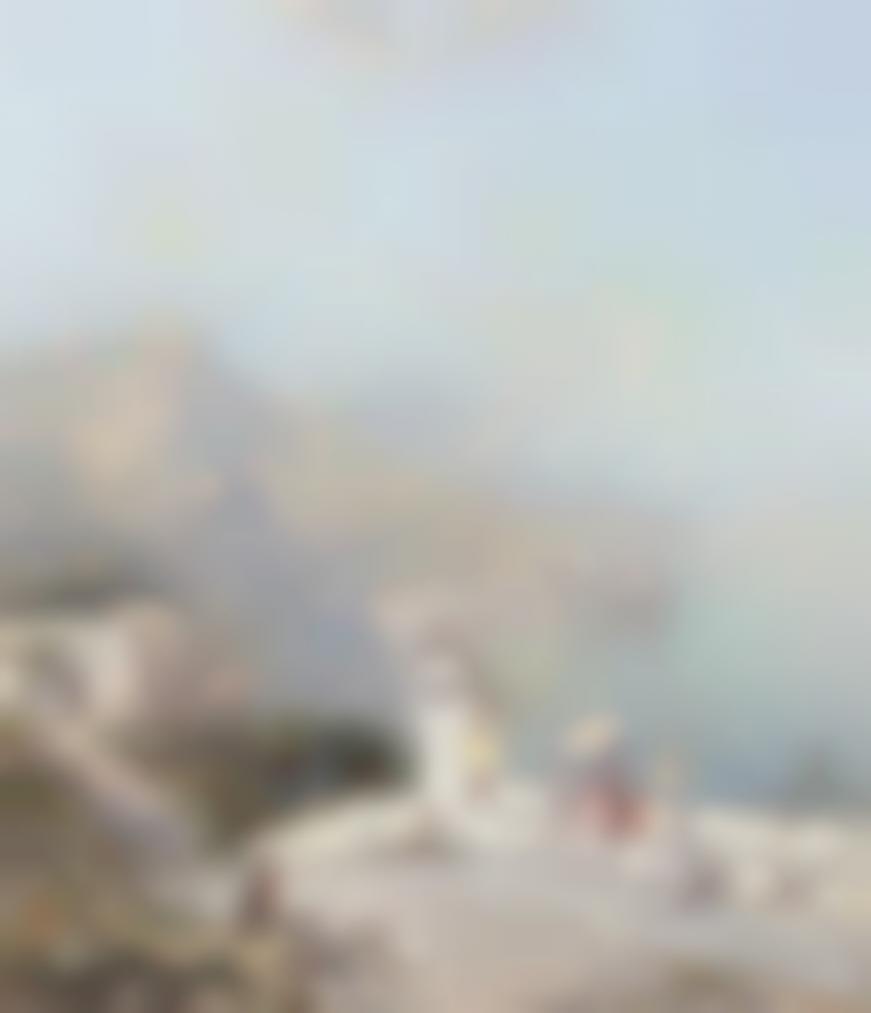 Franz Richard Unterberger - The Amalfi Coast-