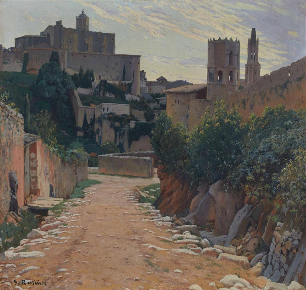 Santiago Rusinol - Girona-1908
