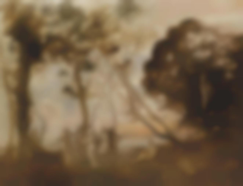Jean Baptiste Camille Corot - La Danse Des Nymphes-1873