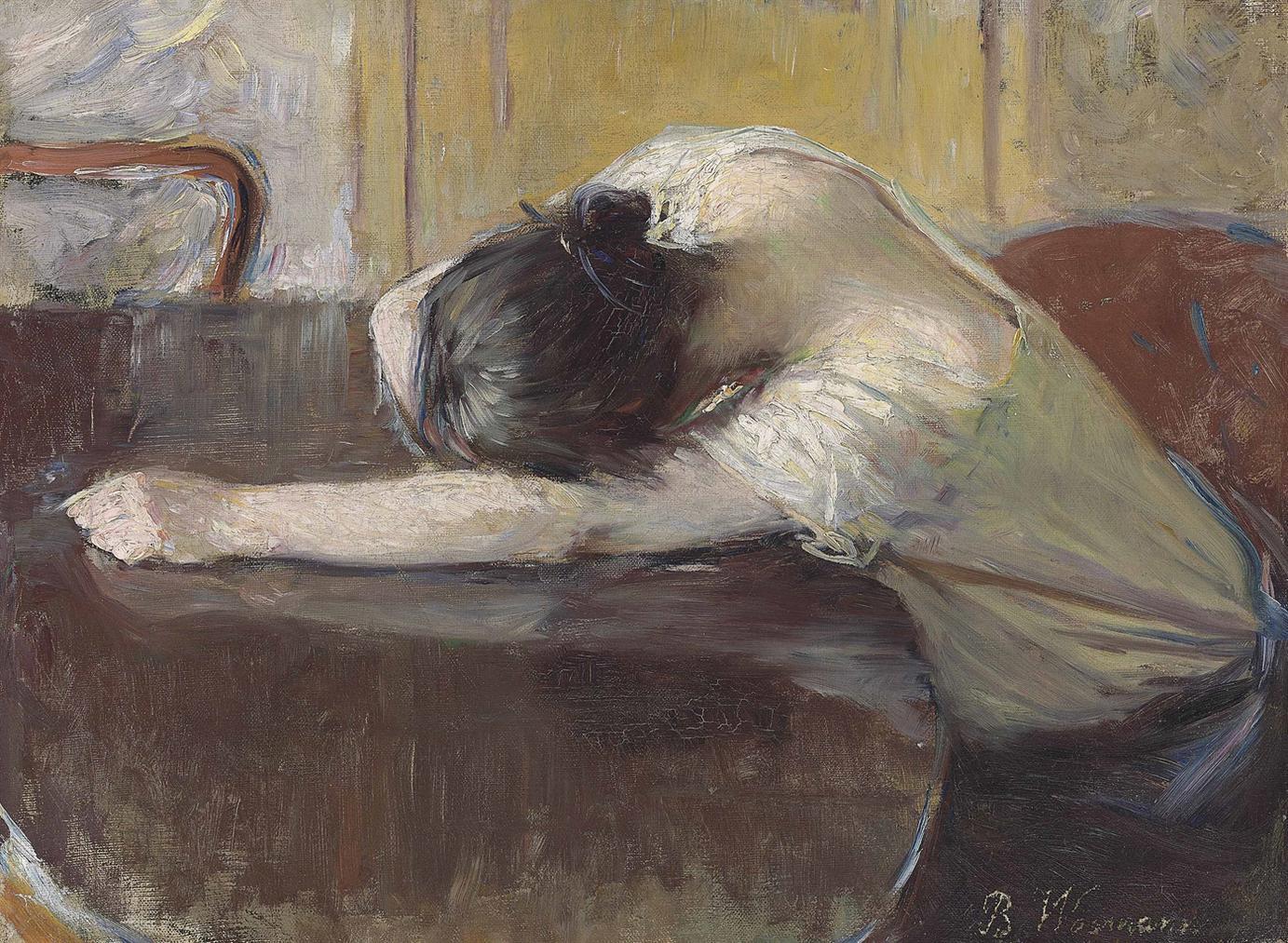 Bertha Wegmann - Despair-