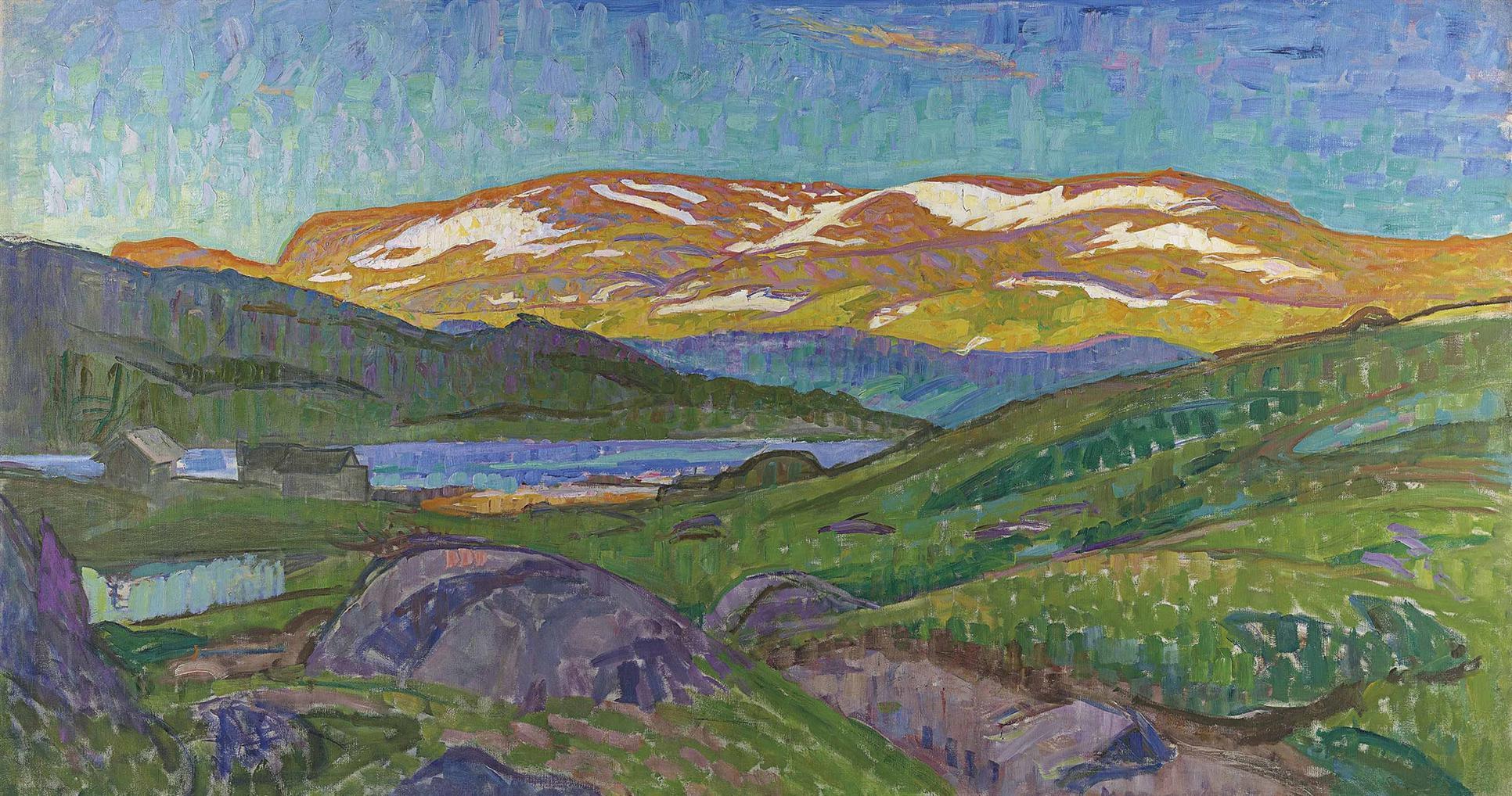 Richard - Landskap Fran Gjendesheim-1910