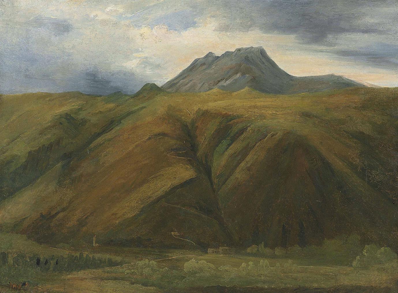 Theodore Rousseau-Vue Presumee Du Puy De Sancy-