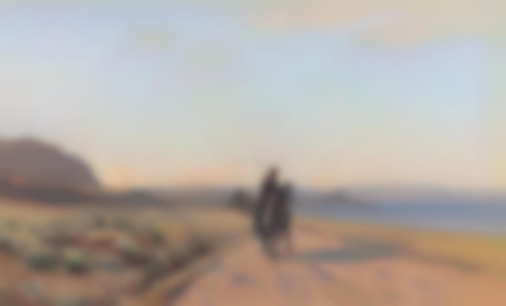 Auguste Louis Veillon - An Arab On Horseback-
