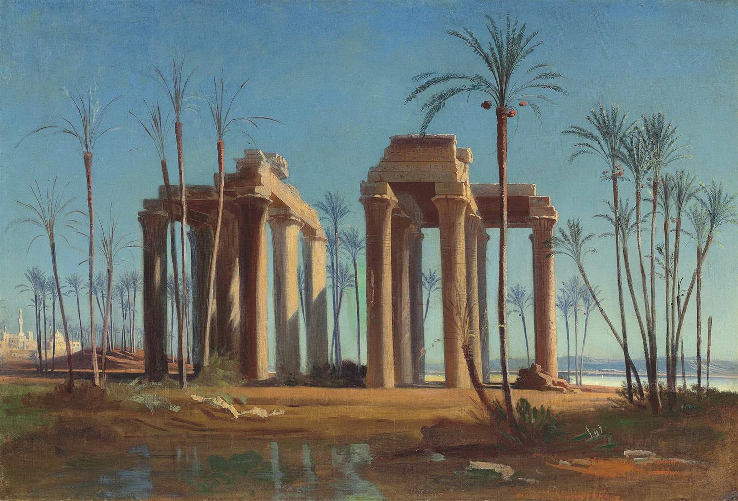 Johann Jakob Frey - A View Of Anteopolis-