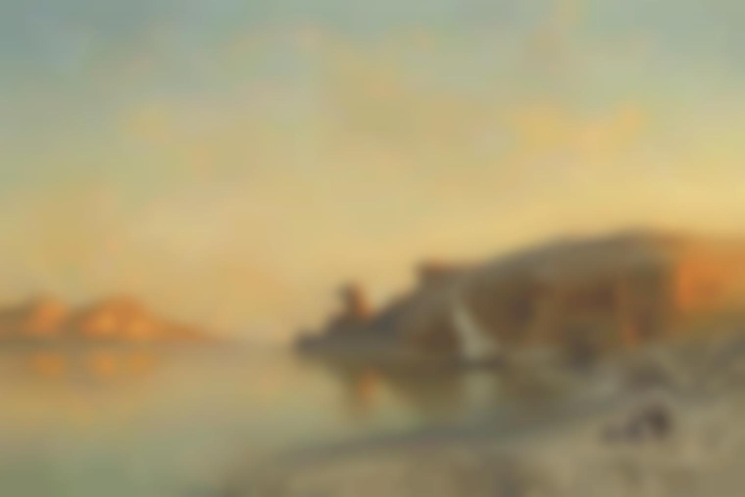 Ernest Karl Eugen Koerner - Gebel Silsileh Temple, Egypt-1919