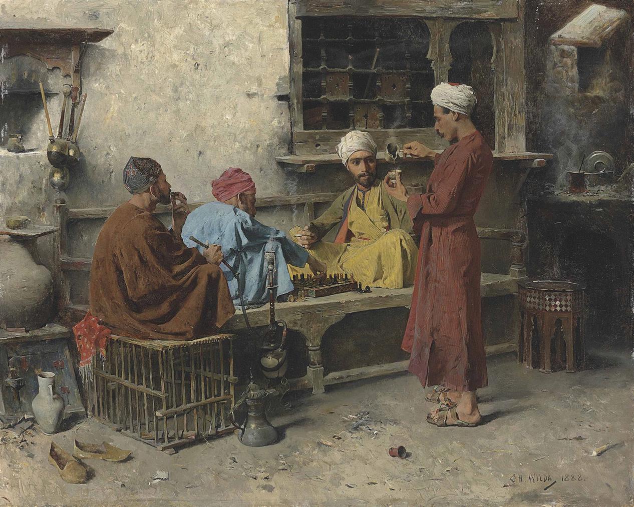 Charles Wilda - The Game-1888