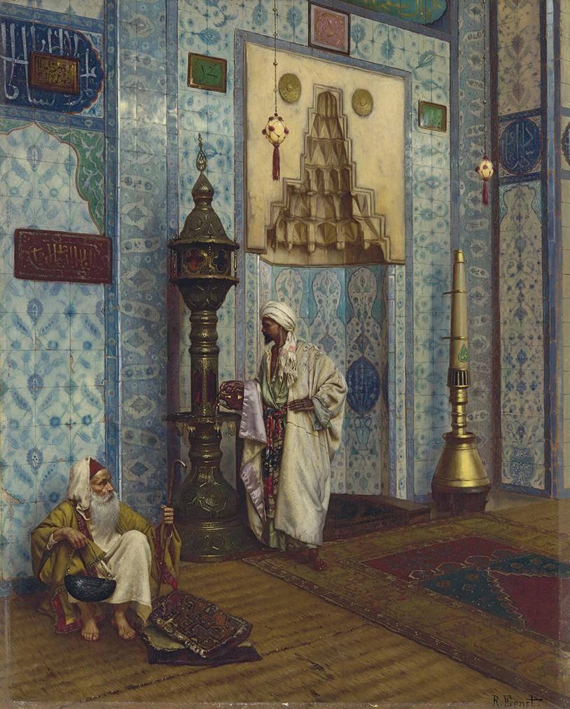 Rudolf Ernst - In The Mosque-