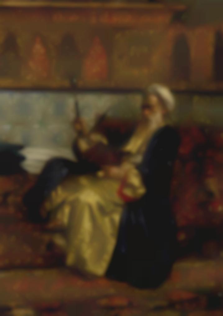 Rudolph Ernst - An Arab Scholar-