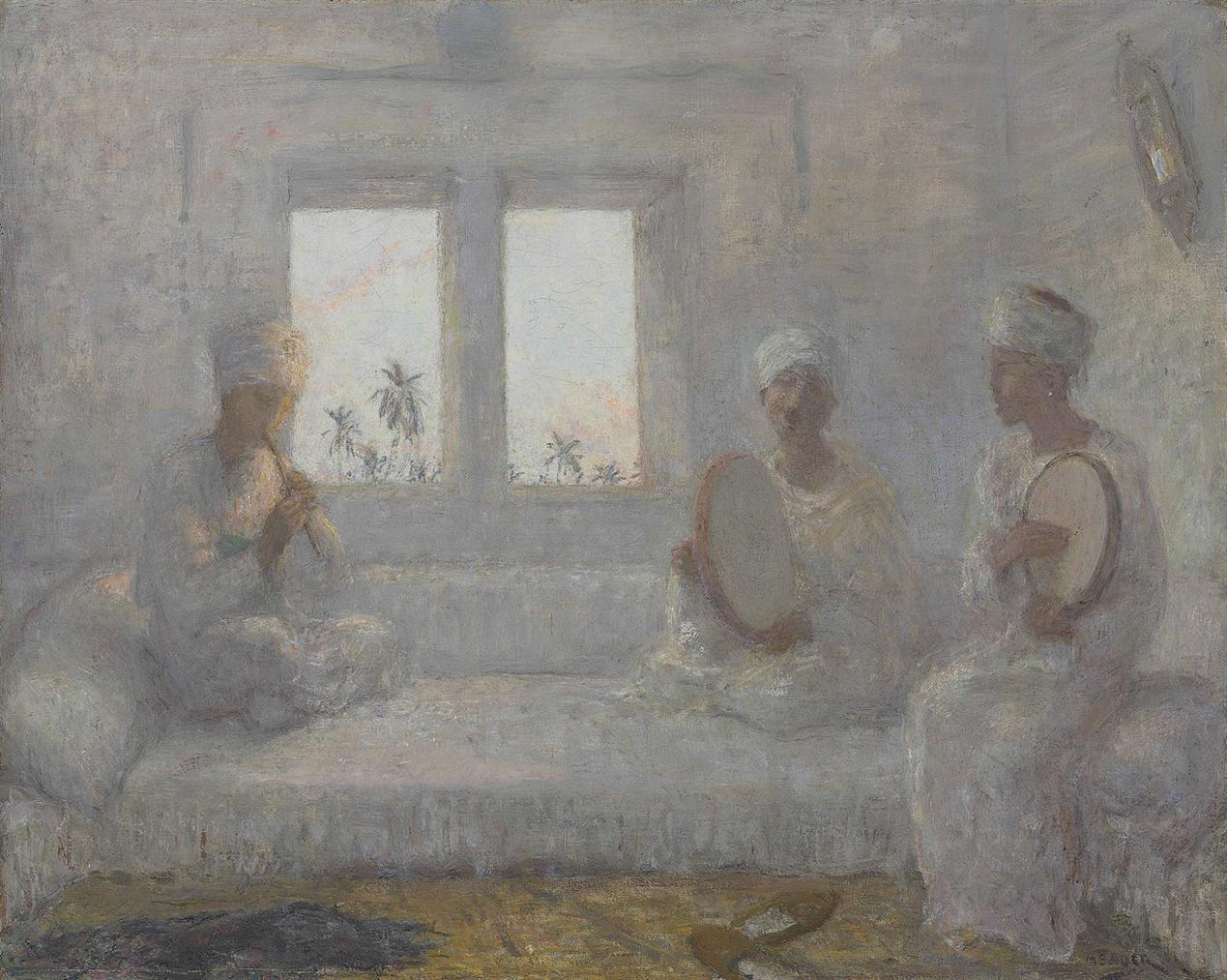 Marius Bauer - Oosterse Muziekanten: Oriental Musicians-1926