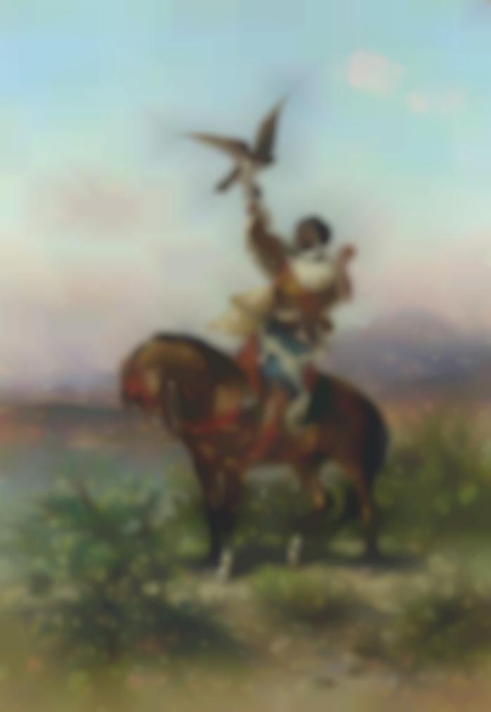 Georges Washington-The Falconer-