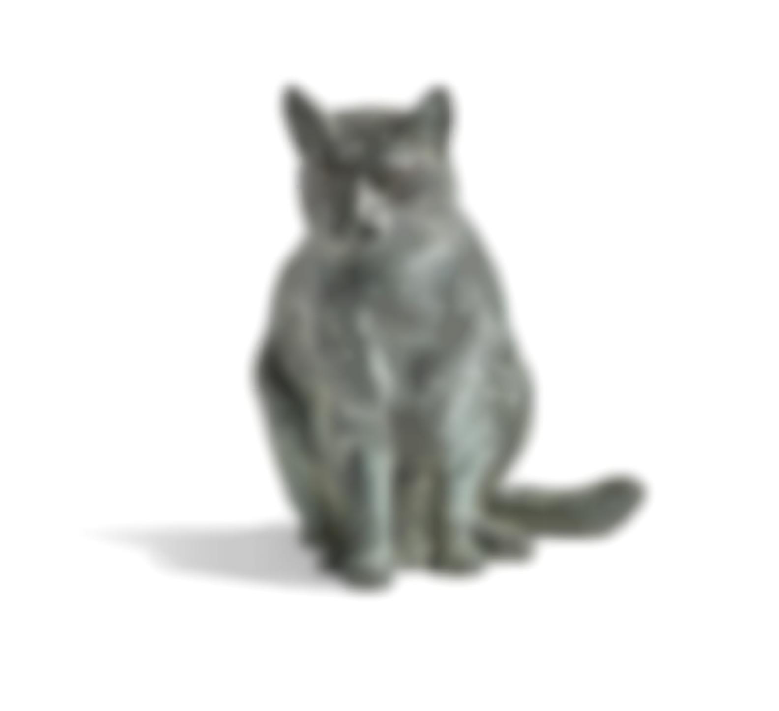 Mark Rossi - Cat Sitting Upright-