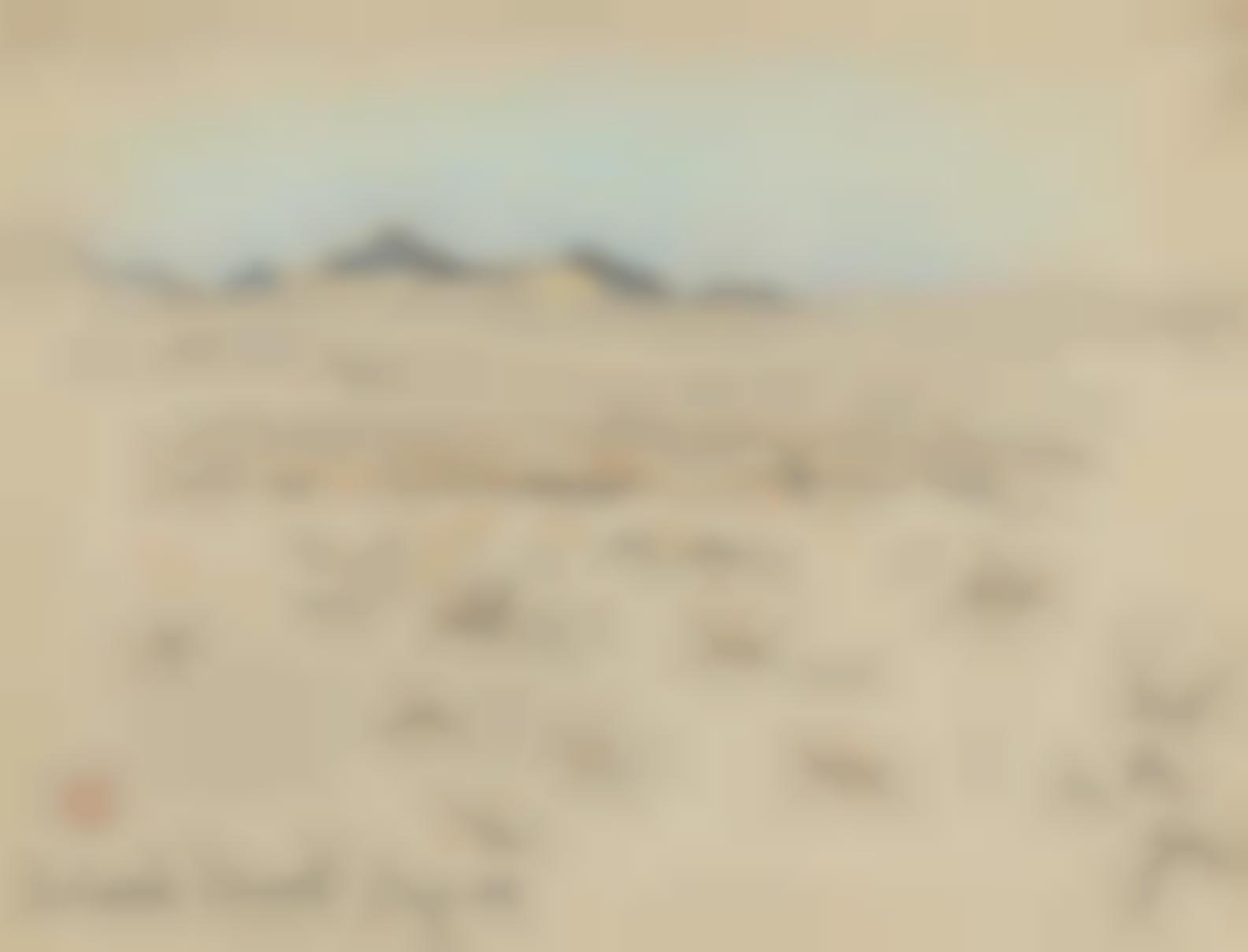 Maynard Dixon - Colorado Desert #2, Arizona-1902