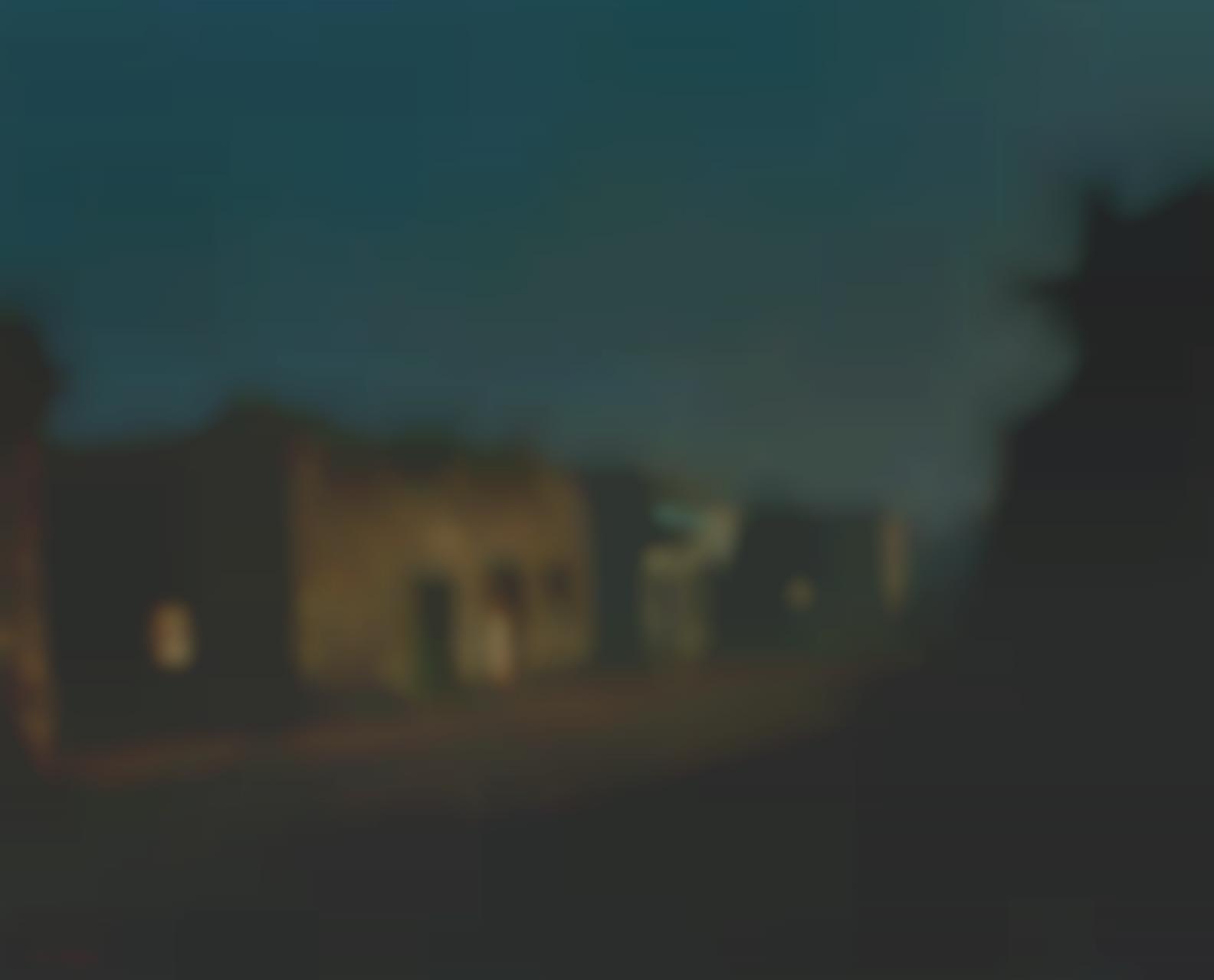 Will Sparks - Moonlit Village-1912