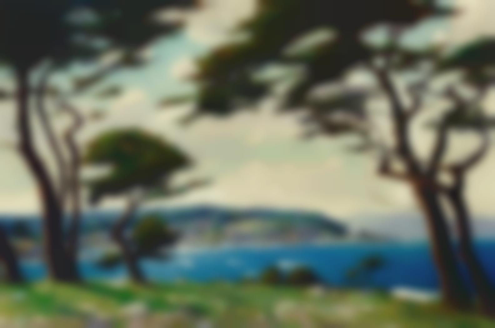 Dedrick B. Stuber - Blue Waters, Monterey-