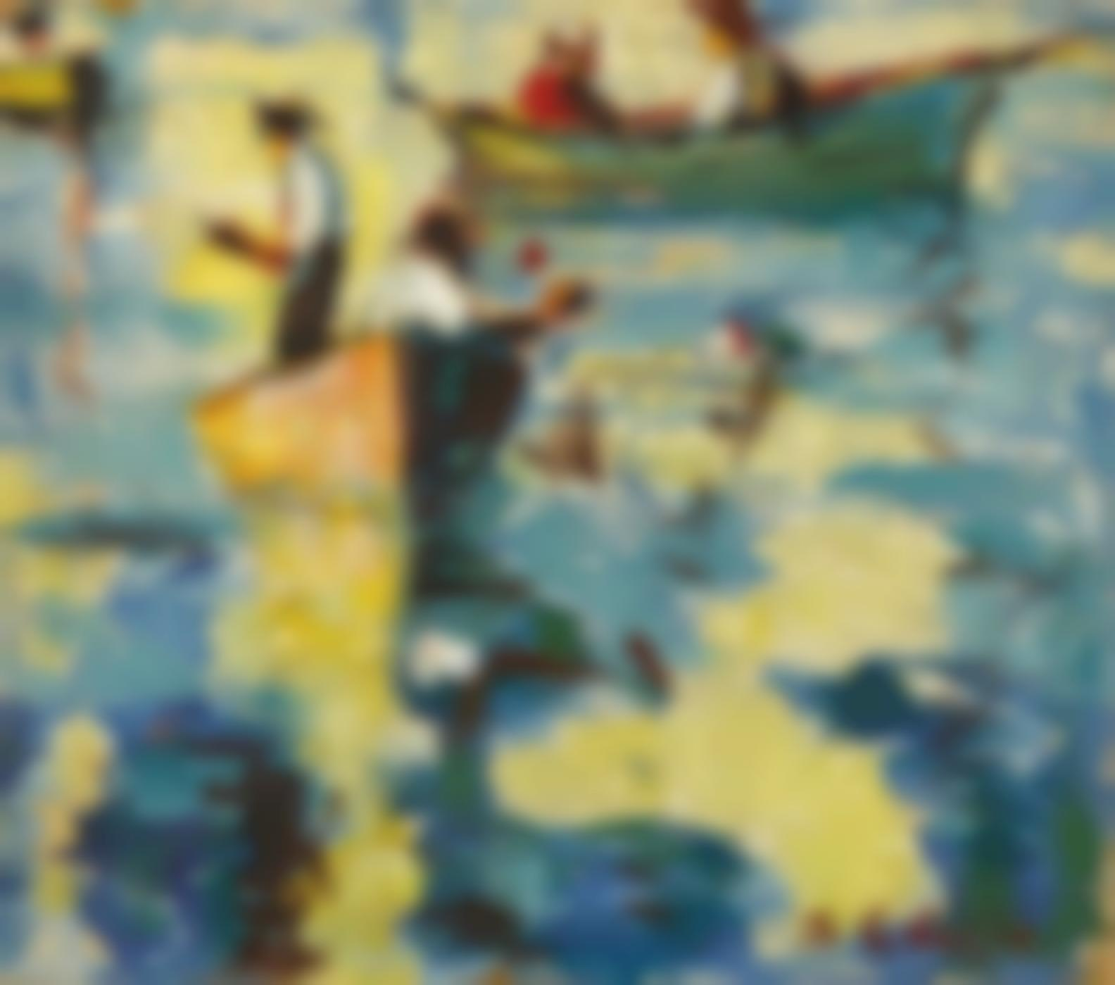 Selden Connor Gile - Figures In Boats-