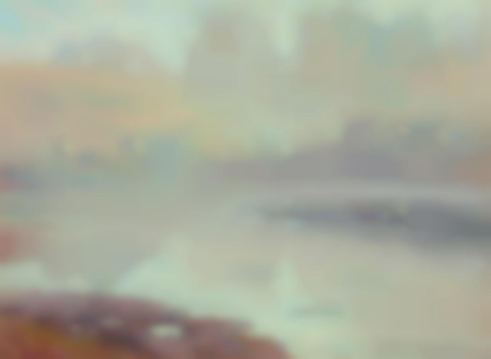Benjamin Chambers Brown - The Rising Fog-