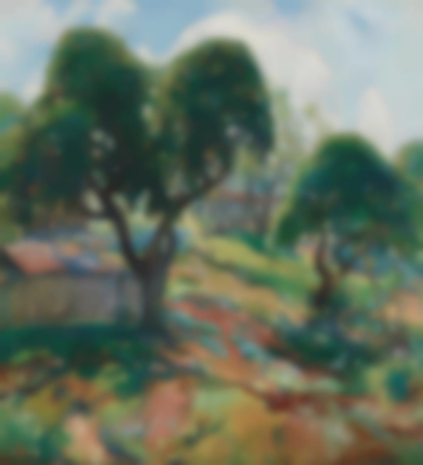Charles Reiffel - The Apple Barn-1913