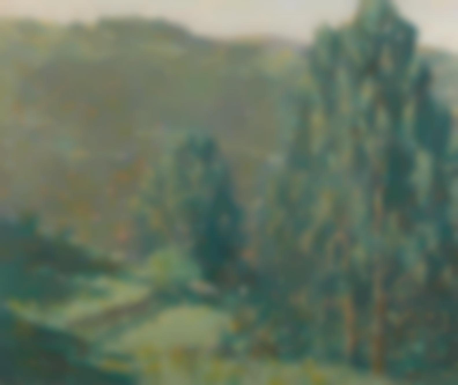 Rinaldo Cuneo - Marin Hills Landscape-1916