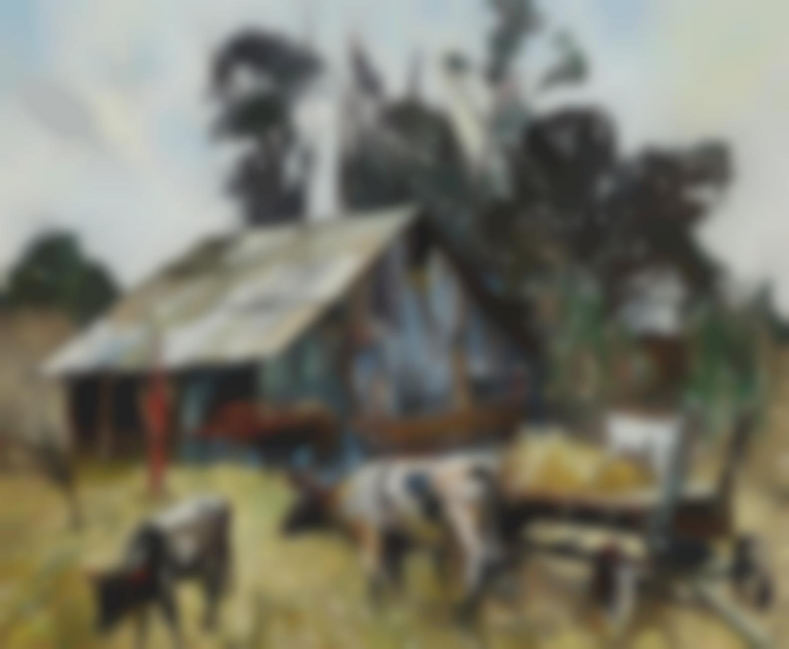 Millard Owen Sheets - Tonys Ranch-1930