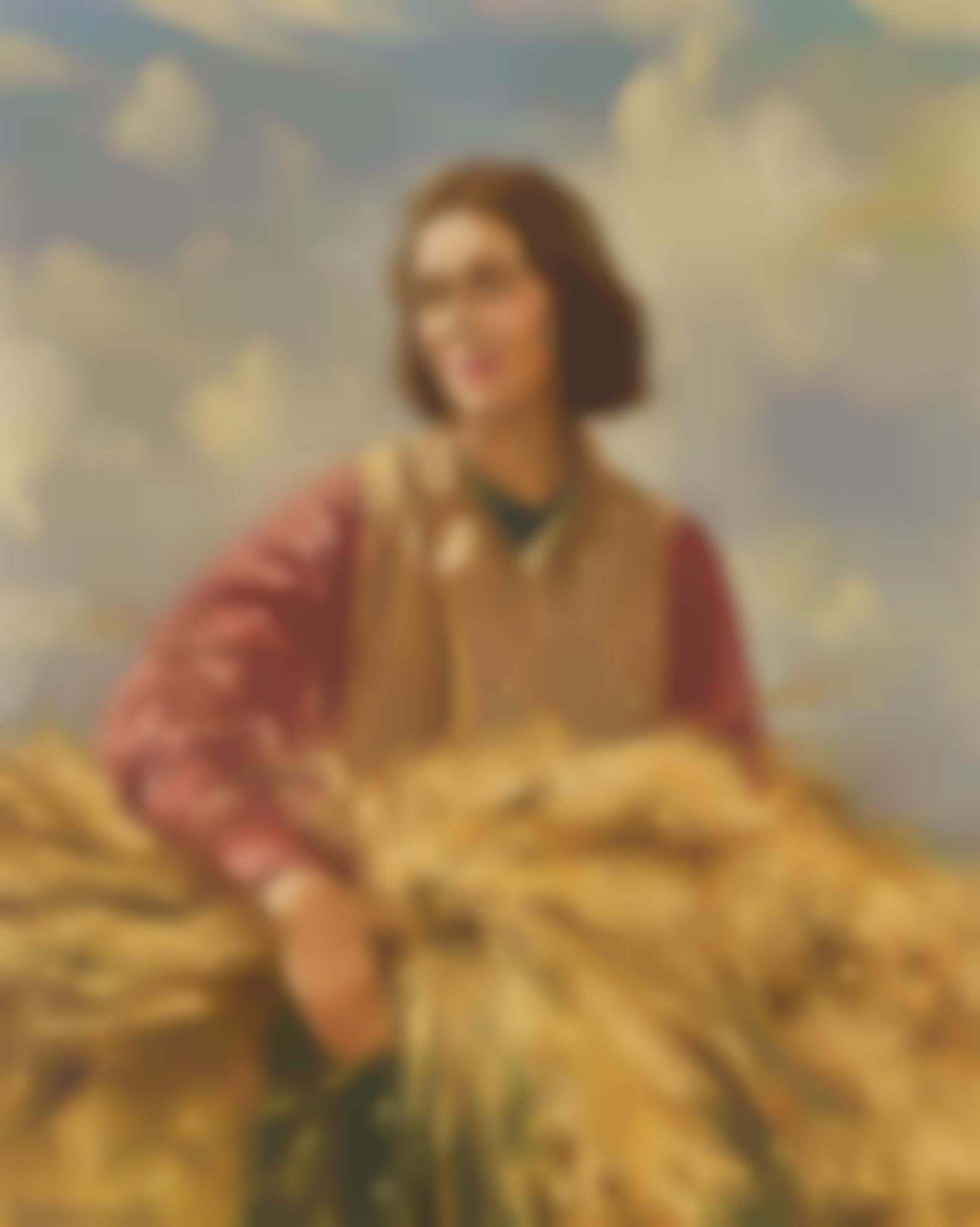 Maurice Wilks A.R.H.A. R.U.A. - The Harvester-