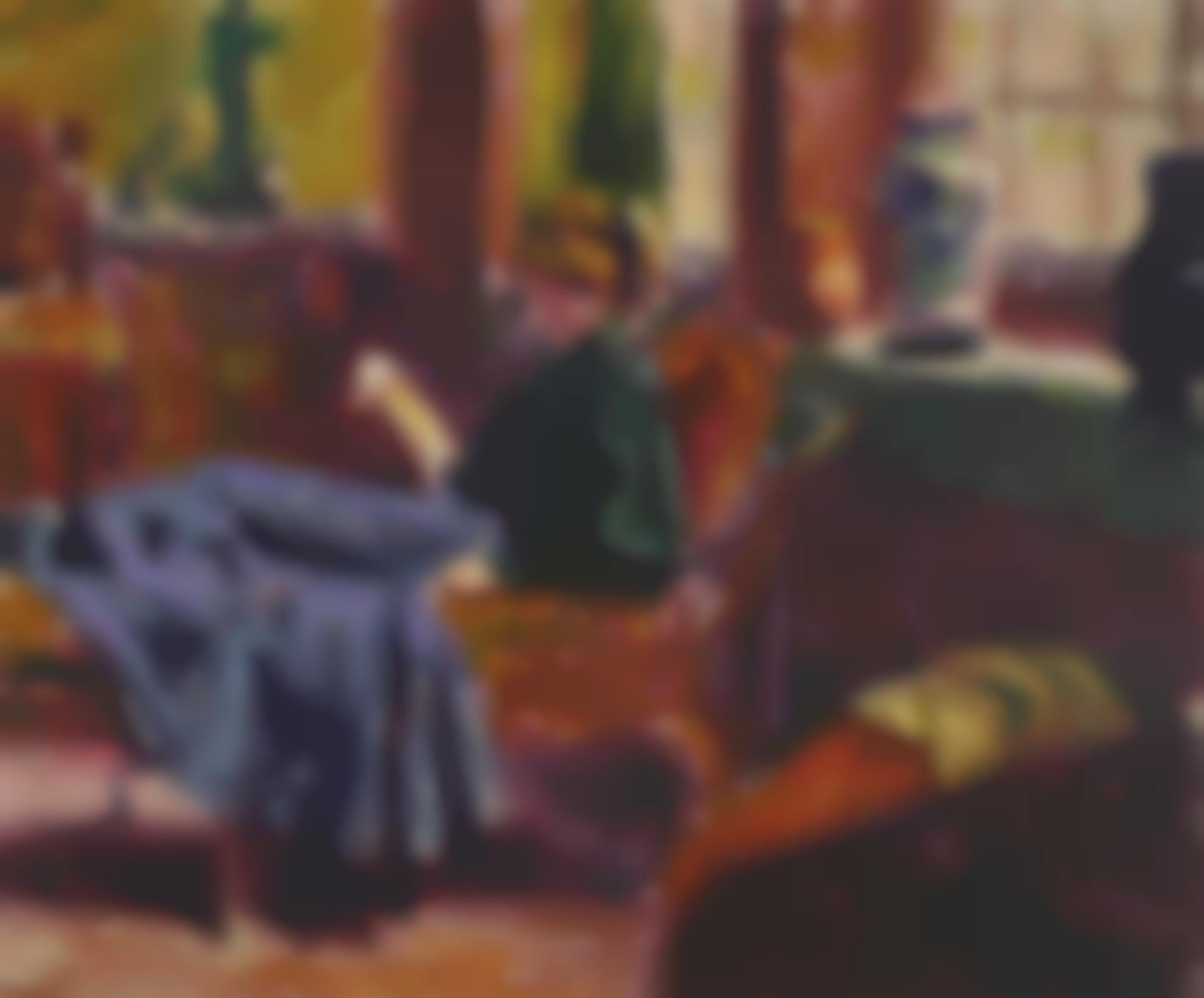 Roderic O'Conor-Girl Reading-1908