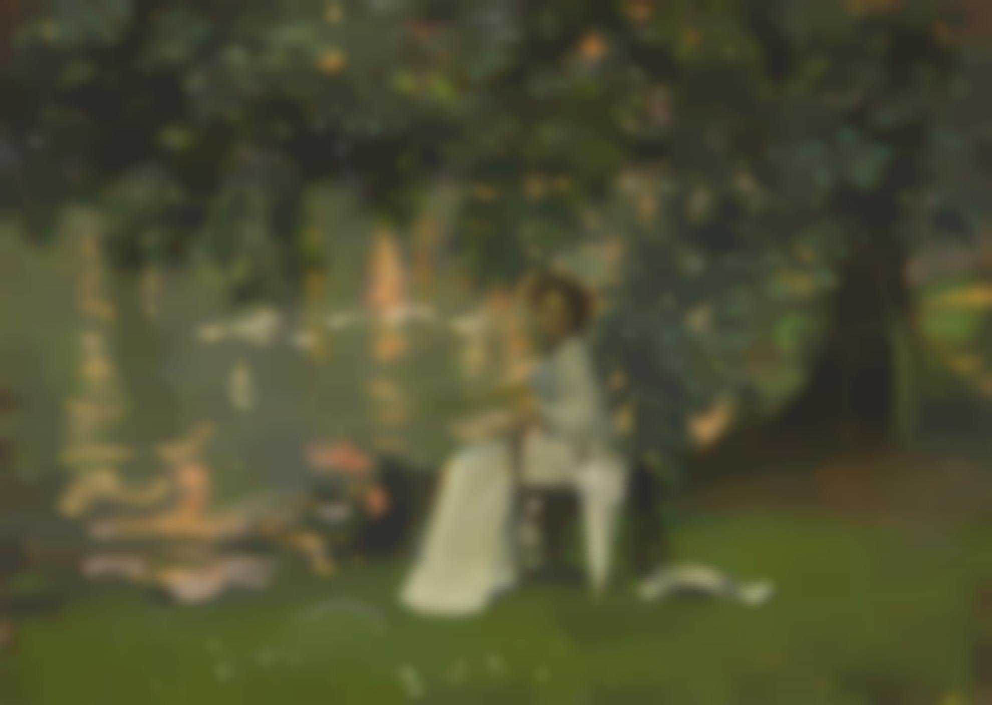 Sir John Lavery - Under The Trees, Ranelagh-