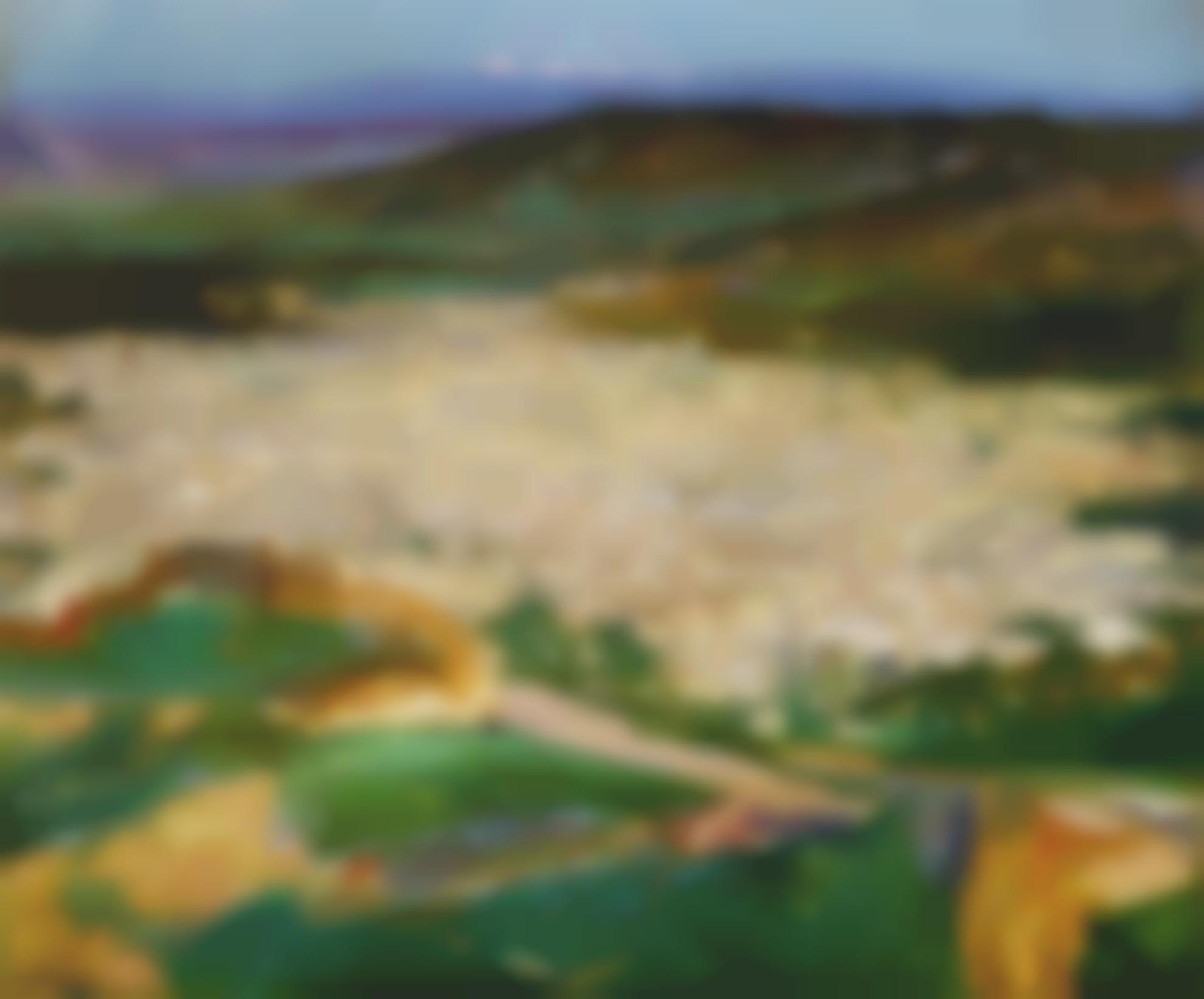 Sir John Lavery - A View Of Fez-1919