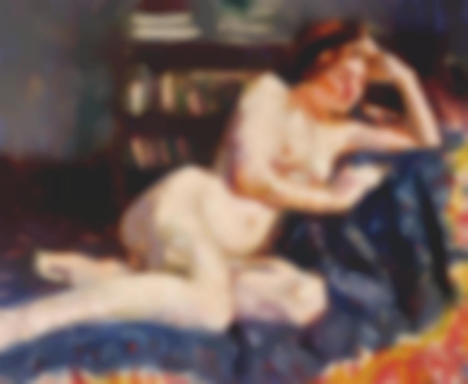 Roderic O'Conor-Reclining Nude-