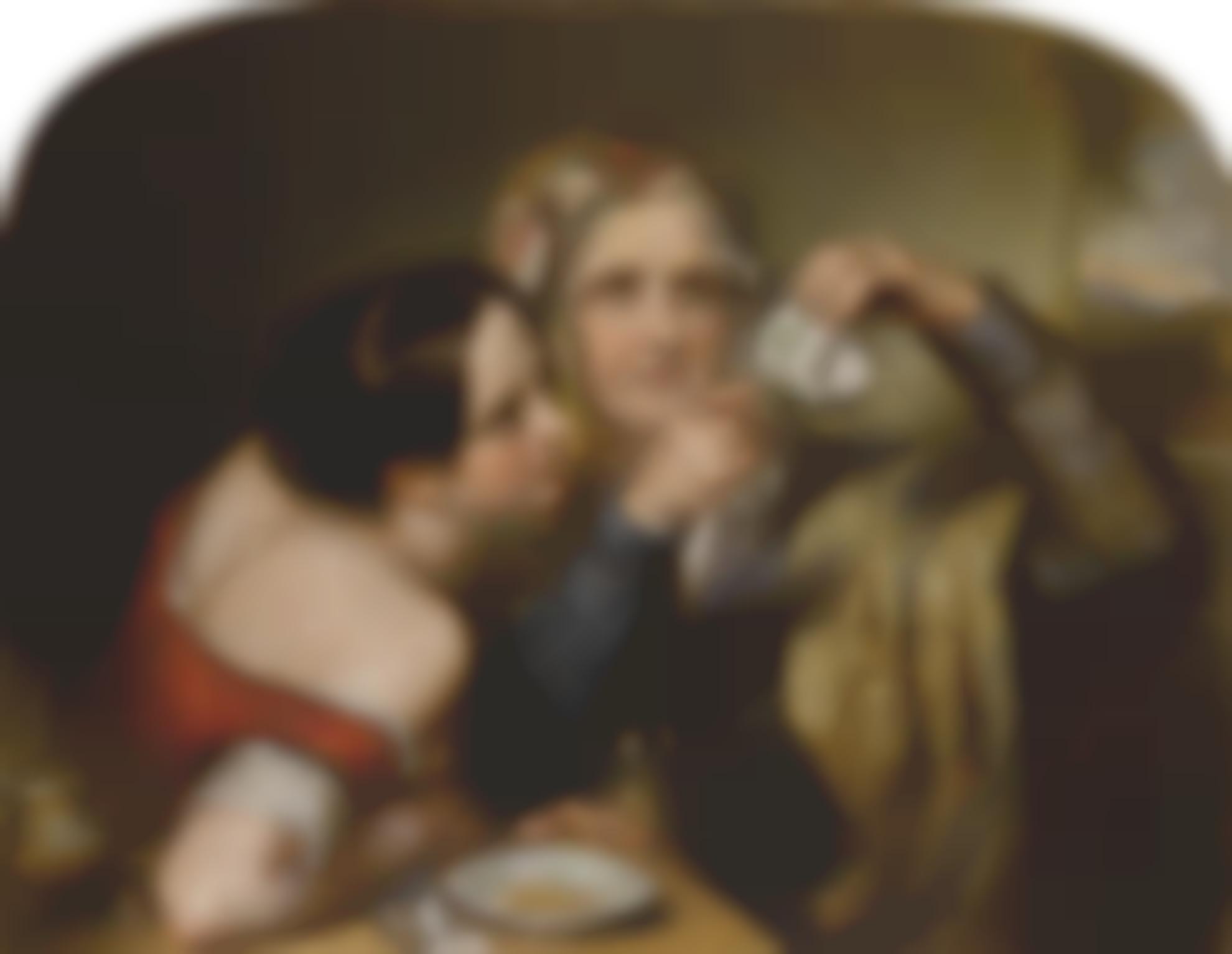 Nicholas Joseph Crowley - Fortune Telling By Cup Tossing-1842