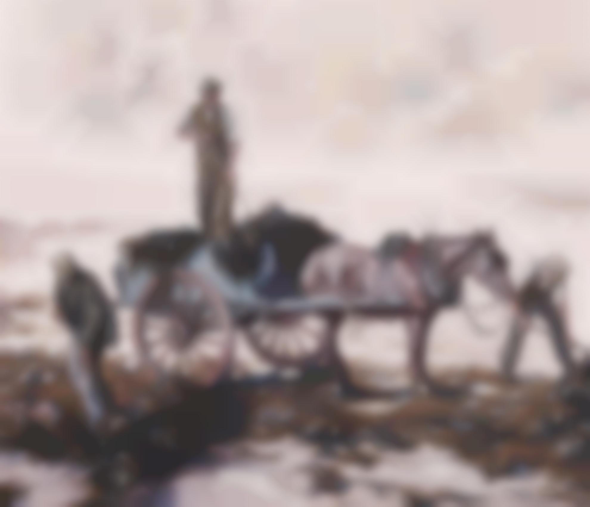 Lilian Davidson A.R.H.A. - Gathering Kelp-