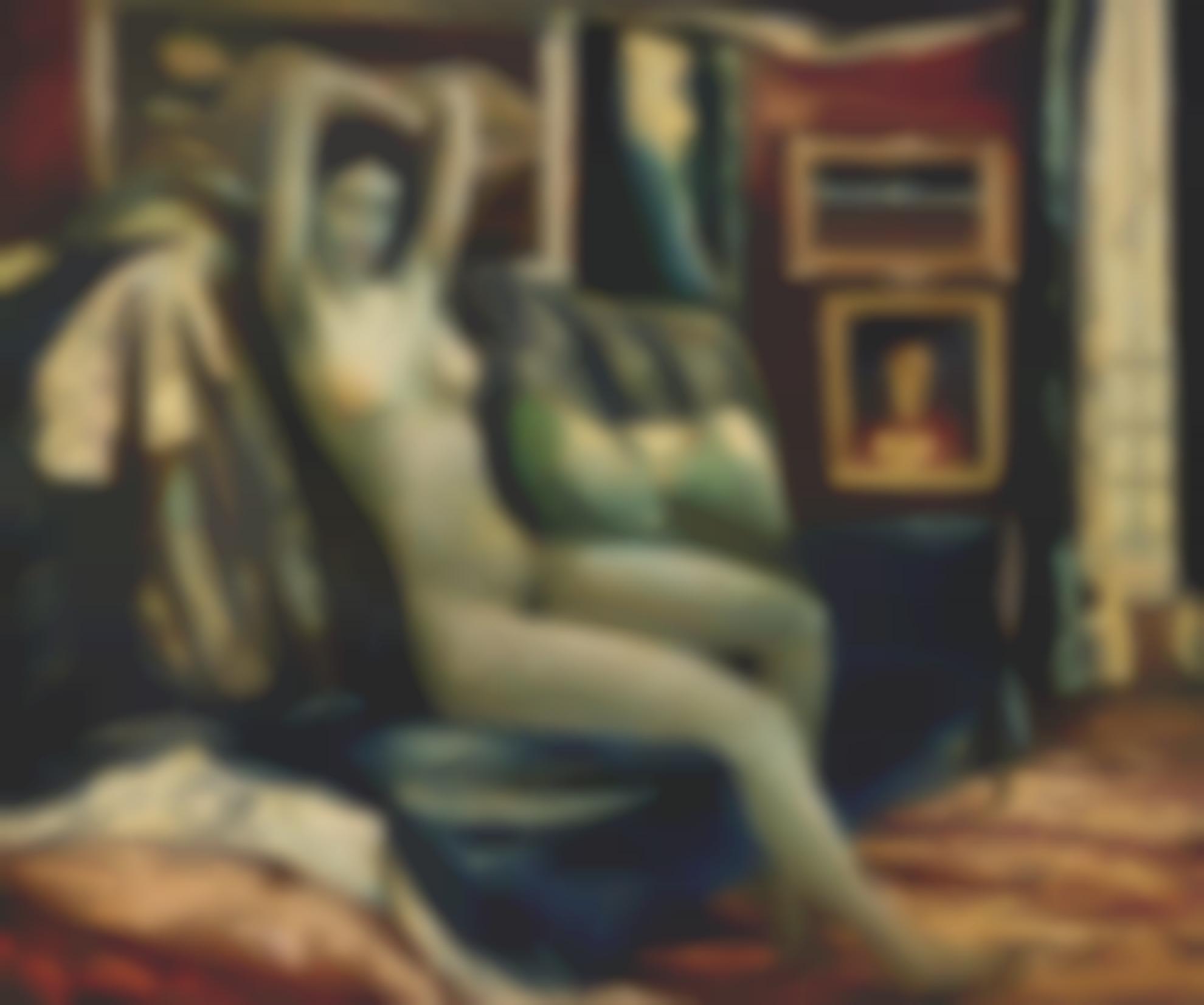 Daniel O'Neill - Seated Nude-