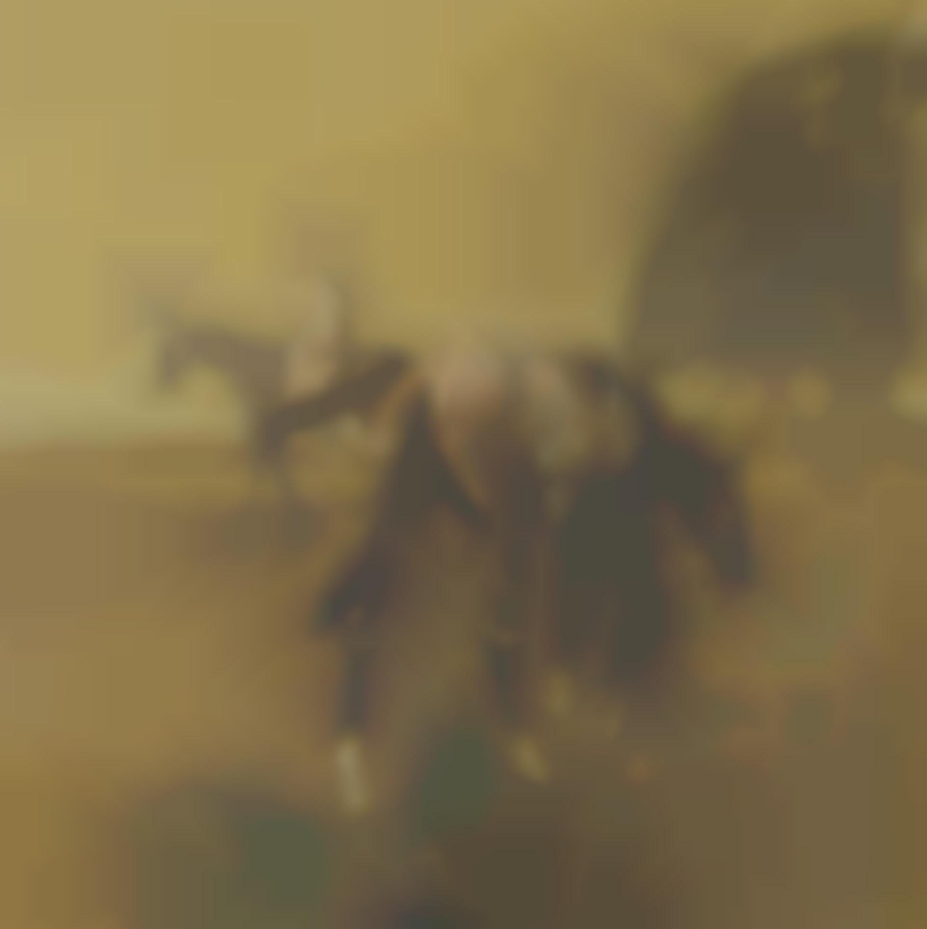 Basil Blackshaw H.R.H.A - Racehorses Exercising I-