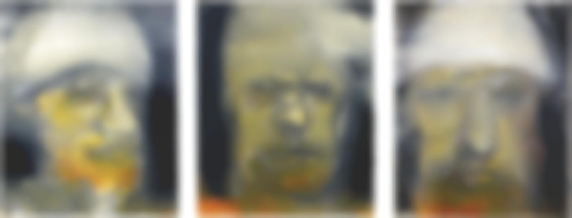 Hughie O'Donoghue - Man With A Bandaged Head-2009
