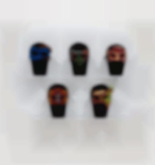 Yinka Shonibare-Masks From Un Ballo In Maschera-2004