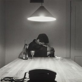 Carrie Mae Weems-Untitled (Woman And Phone) From The Series The Kitchen Table-1990