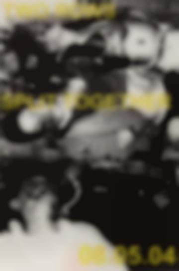Adam Pendleton-Two Rows Split Together-2006