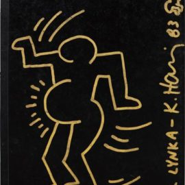 Keith Haring-Untitled (Portrait Of Lynka Pregnant)-1983