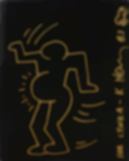 Keith Haring-Untitled (Portrait Of Lynka Pregnant)-1983