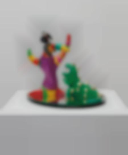 Niki de Saint Phalle-Larbre Et Le Dragon-1993