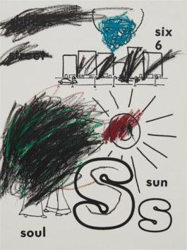 Glenn Ligon-Sun (Version 1) #2-2001