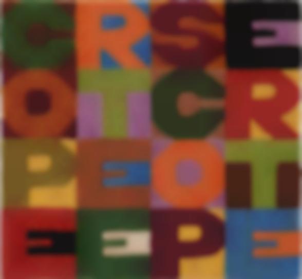 Alighiero Boetti-Coperte E Scoperte-1988